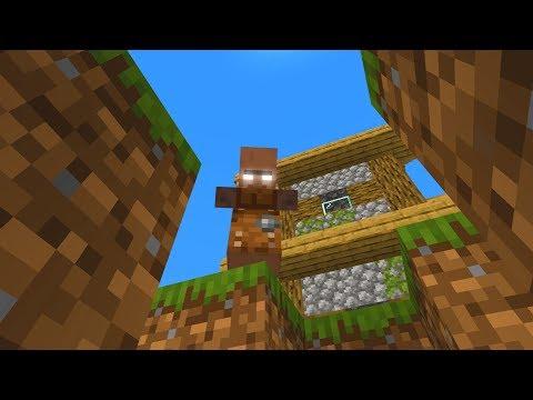 Minecraft villager buried me alive in Minecraft!