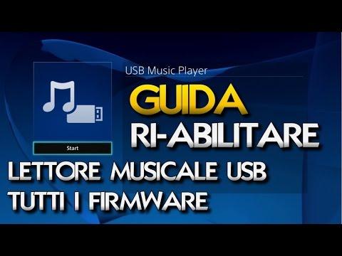 [GUIDA]  COME ABILITARE IL VECCHIO LETTORE MUSICALE USB PS4