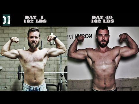 40 Days Body Transformation, 100 Pull Ups a Day, 100 Dips a Day Challenge -  Results