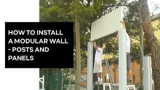 Modular Wall Systems - Post And Wall Construction. Www.modularwalls.com.au