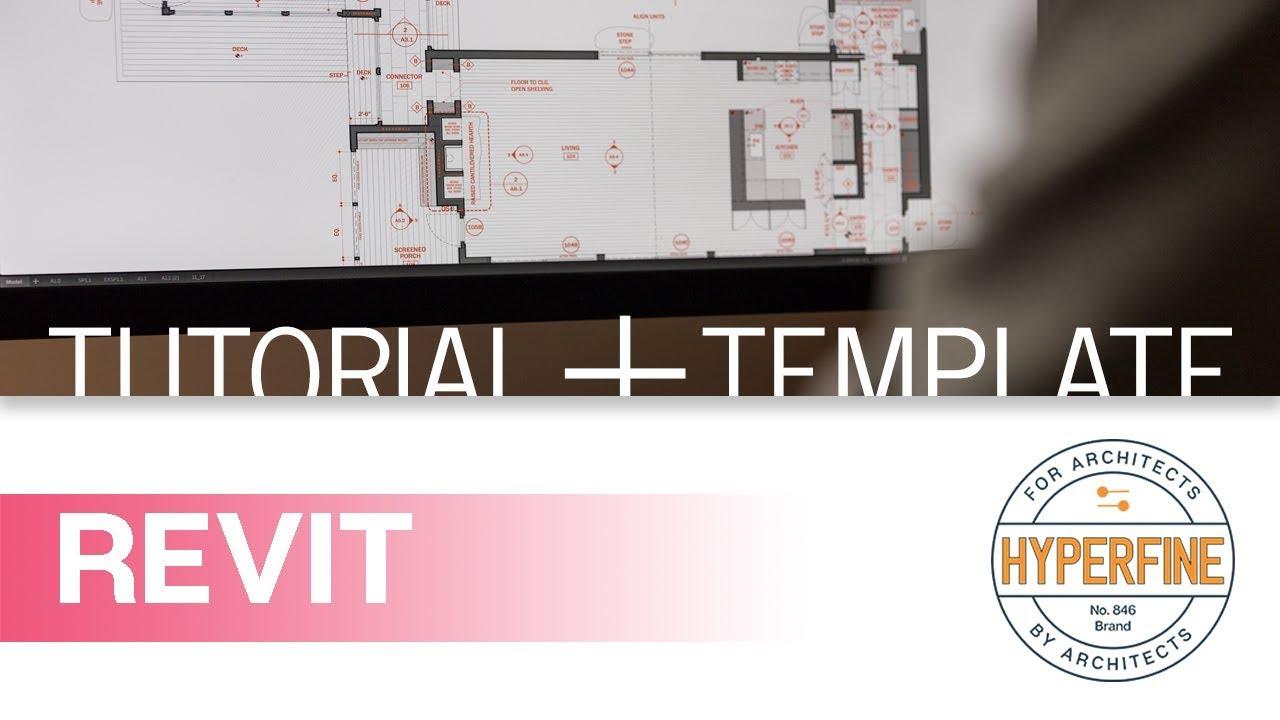 30x40 Design Workshop Revit Template Youtube