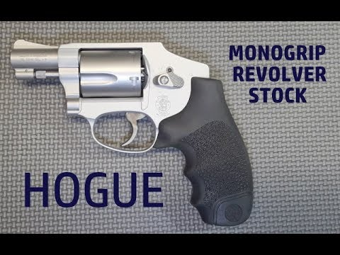 Smith and Wesson J-Frame Revolver Hogue Grip Installation