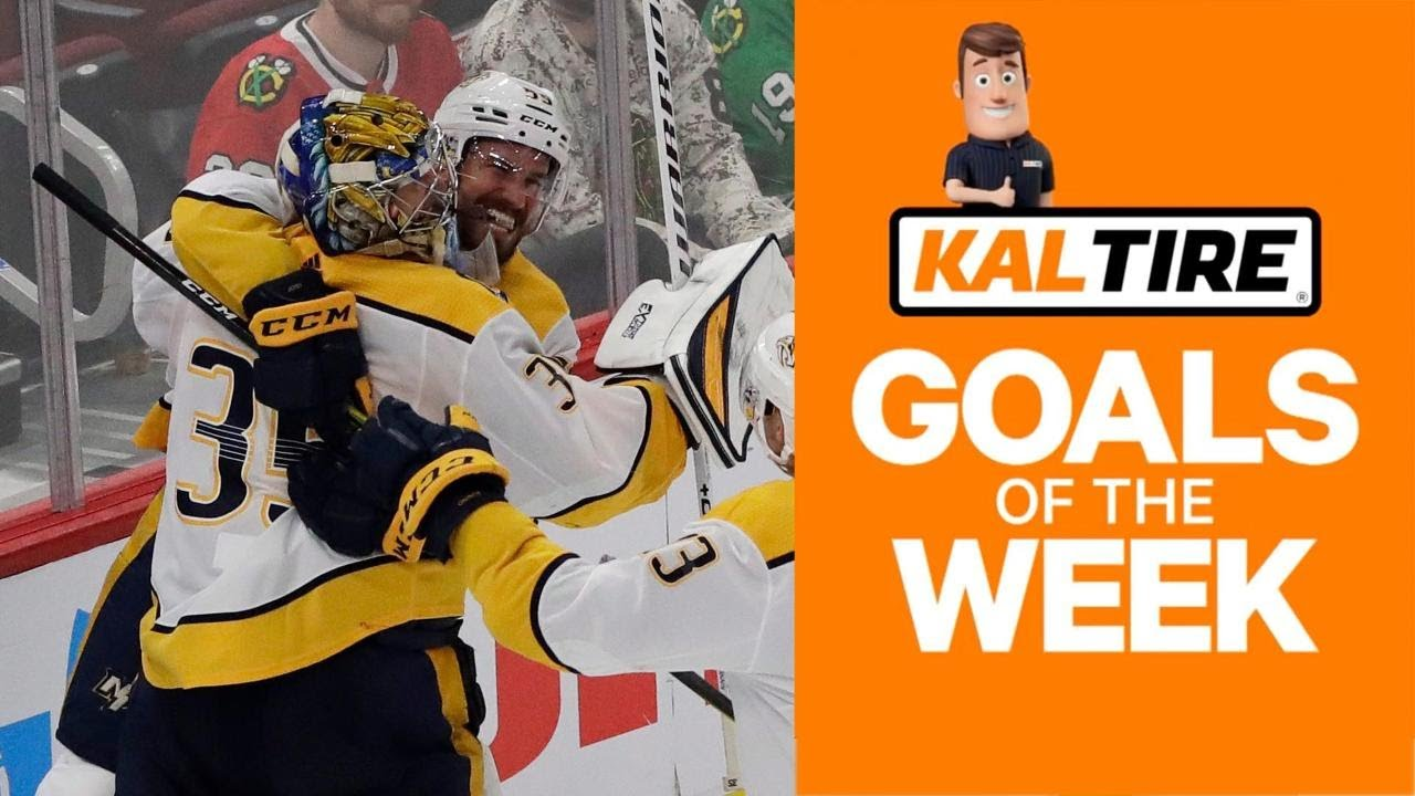 NHL Goals Of The Week: Rinne Rips Home Rare Goalie Goal