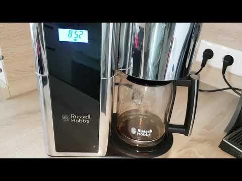 Russell Hobbs Elegance Digitale Glas-Kaffeemaschine 23370-56