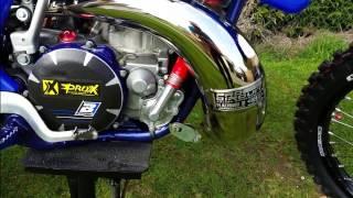 RESTAURATION Yamaha 250 yz 2003 ( VOICI ENFIN LE DÉMARRAGE )