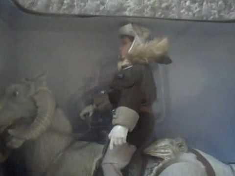1998 Star Wars HAN SOLO RIDING TAUNTAUN Action Collection Figure Kenner