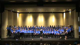 "2012 Virginia All-State Elementary School Chorus - ""The Mountains Are Calling Me"""
