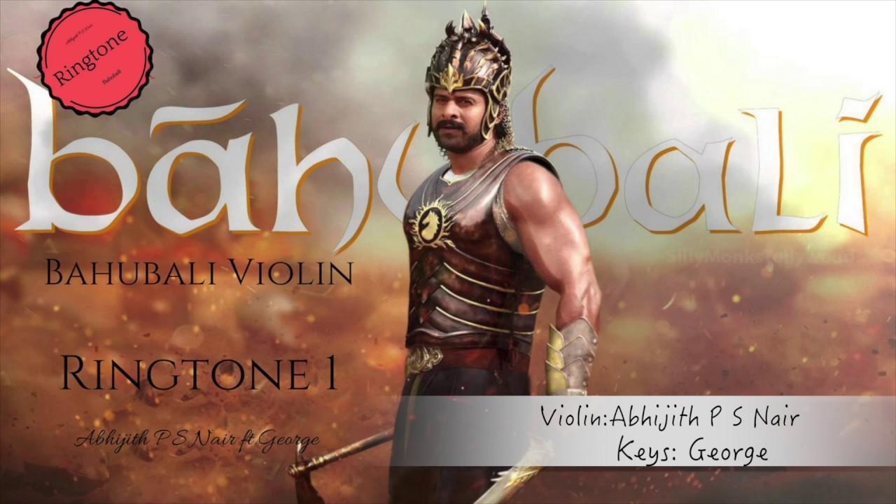 dandalayya|ringtone 1|bahubali| abhijith p s nair|a tribute|violin