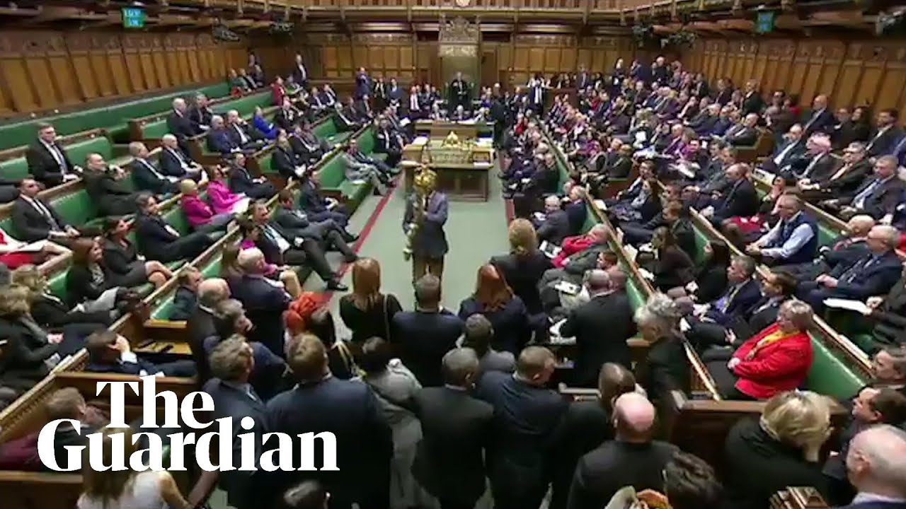'Put it back!': Labour MP grabs the mace during parliament