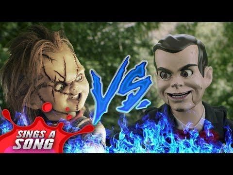 Chucky Vs Slappy (Childs Play Vs Goosebumps Scary Rap Battle Parody)