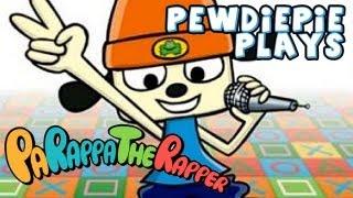 PEWDIEPIE THE RAPPER - Let's Play: Parappa The Rapper - Part 1