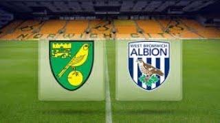 Norwich City VS West Bromwich Albion Match Preview