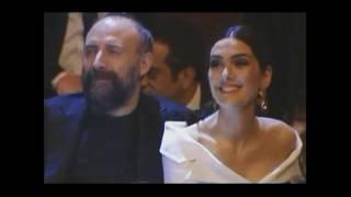 "Berguzar Korel & Halit Ergenc - gala ""Fi"" series ( 31.03. 2017 )"