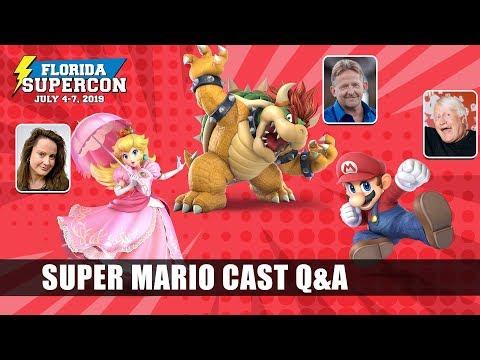 Super Mario Cast Feat. Charles Martinet, Samantha Kelly, & Kenny James