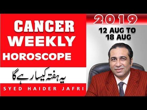 Weekly Horoscope in Urdu Cancer | Weekly Horoscope | Ye Hafta Kaisa RehaGa  2019 | Predictions Jafri