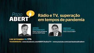 Rádio e TV, superação em tempos de pandemia