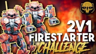 BattleTech: 2v1 Firestarter Challenge thumbnail