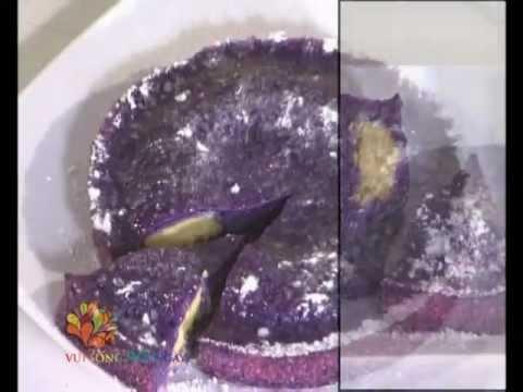 [Ẩm thực] Bánh khoai lang tím