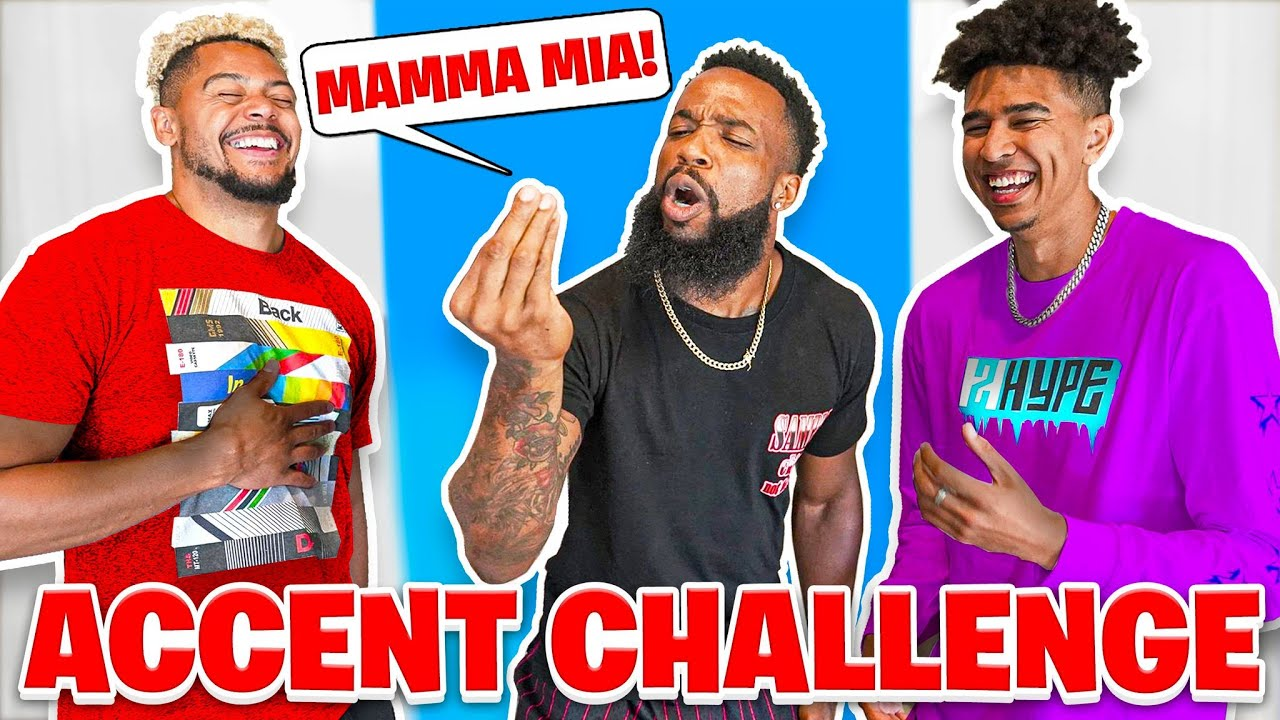 Funniest 2HYPE Accents Challenge!