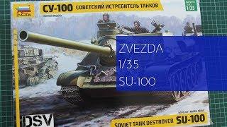 zvezda 1/35 Su-100 (3688) Review