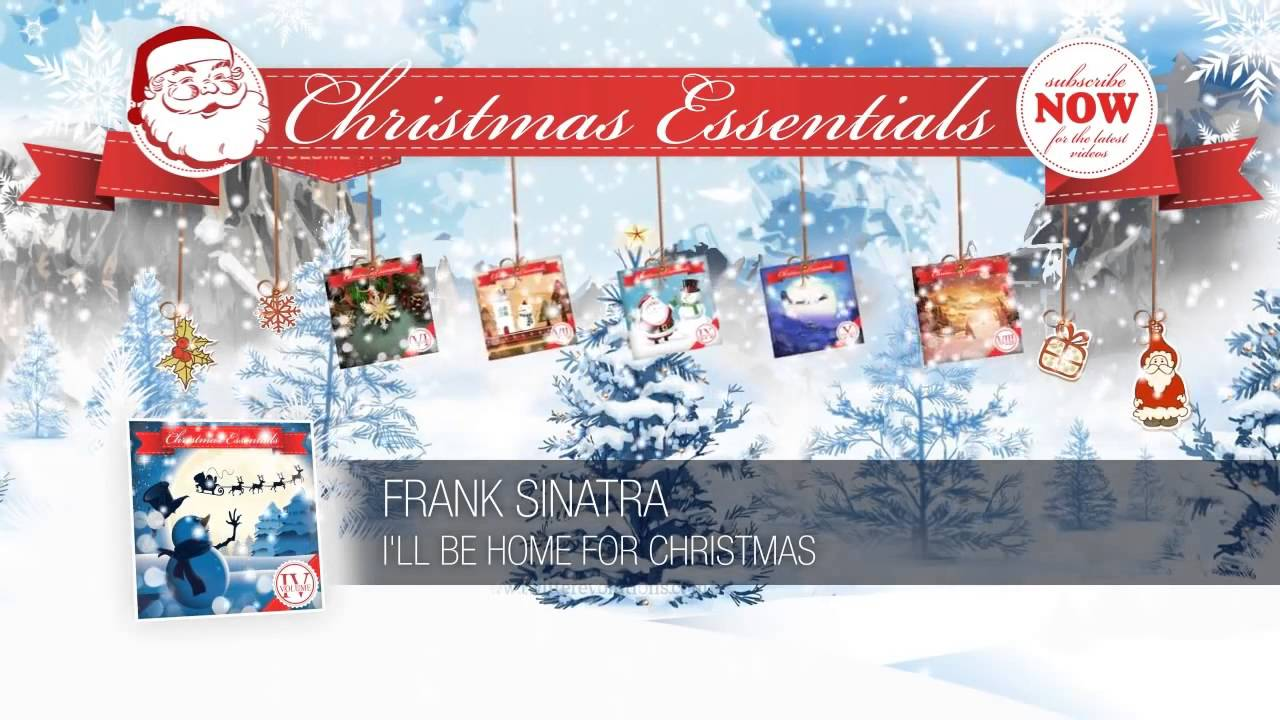 Frank Sinatra - I'll Be Home for Christmas - YouTube