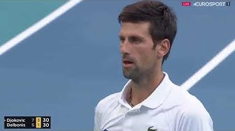 Novak Djokovic vs Federico Delbonis   Miami Open 2019