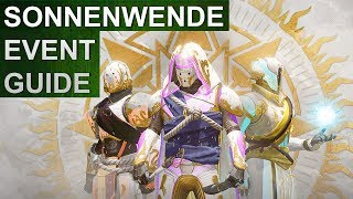 Destiny 2 Sonnenwende der Helden Event Guide (German/Deutsch)
