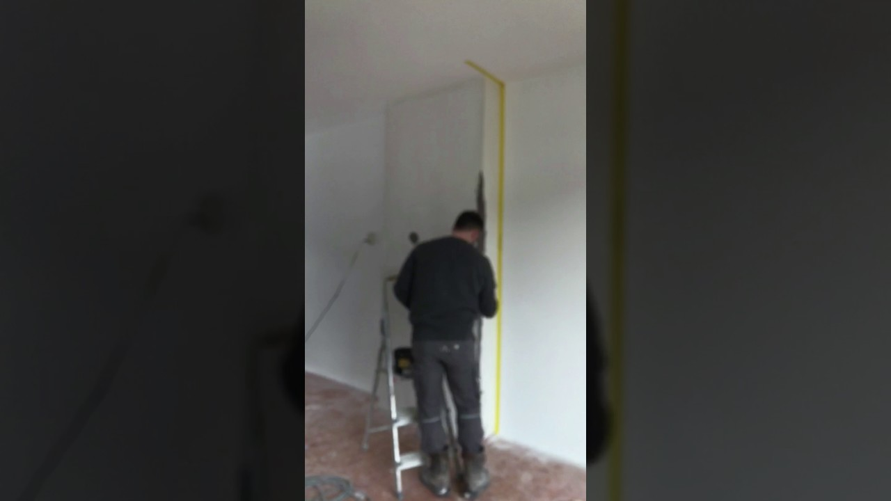 Stucco mat aanbrengen - YouTube