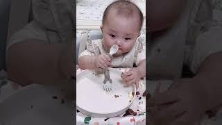 7개월 아기의 이유식 …