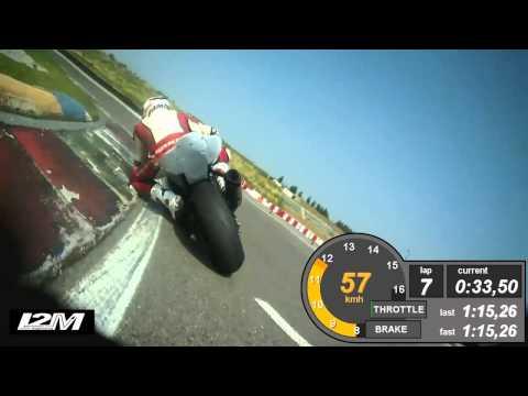 On Board Yamaha R6 Franciacorta