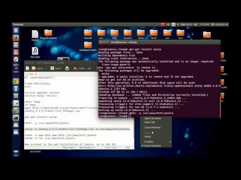 Installing Joomla On Ubuntu