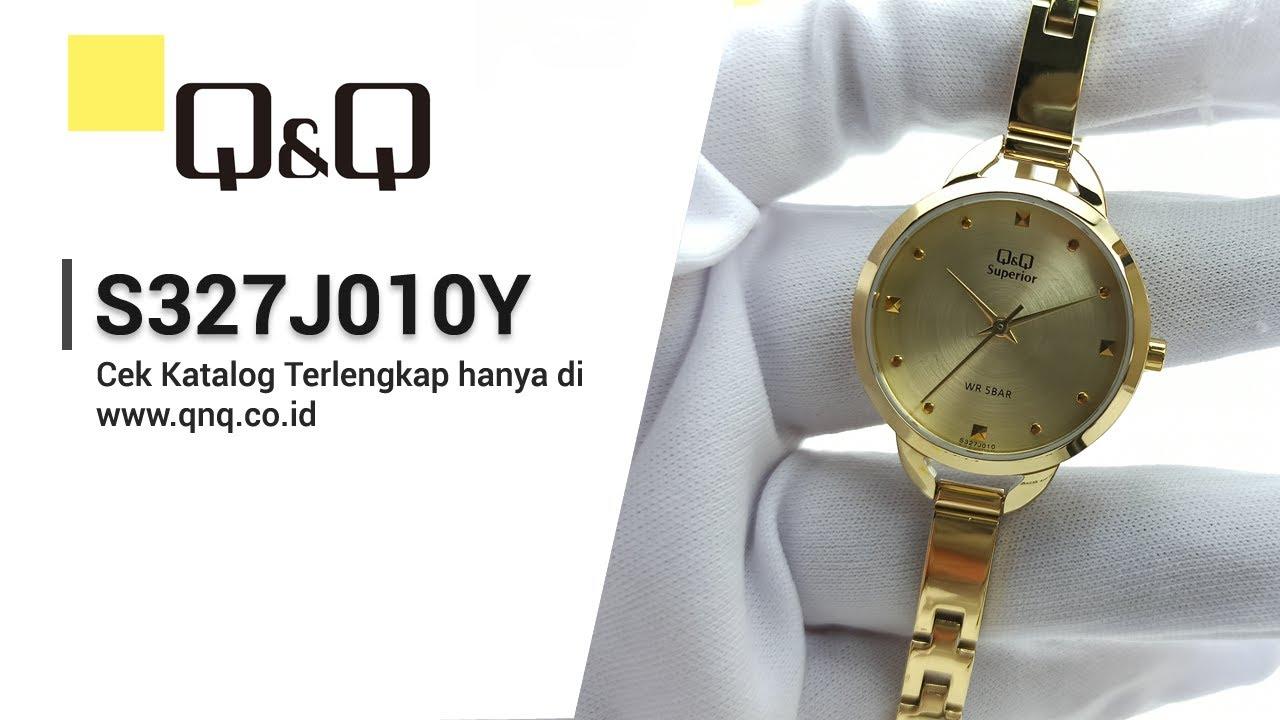 Q Q Superior S327j010y Jam Tangan Wanita Analog Q Q Indonesia Youtube
