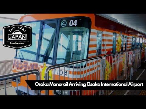 Osaka Monorail Arriving at Osaka International Airport | The Real Japan | HD