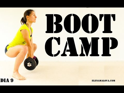 BOOT CAMP 30 min + Estiramiento intensivo | Día 9 #mega5semanas