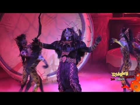 Premiere of The Lion King: Rhythms of the pride lands at Disneyland Paris