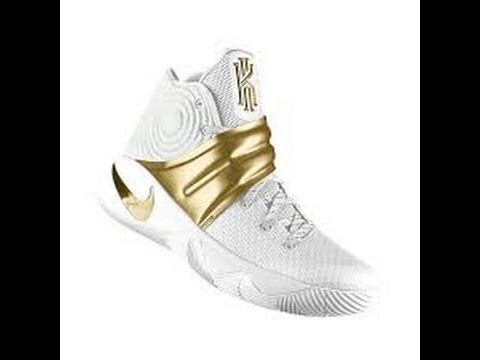 816cf471812 How to make Gold Kyrie 2s - YouTube