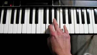 How to play the ending polymoog solo of Gary Numan's song Cars.