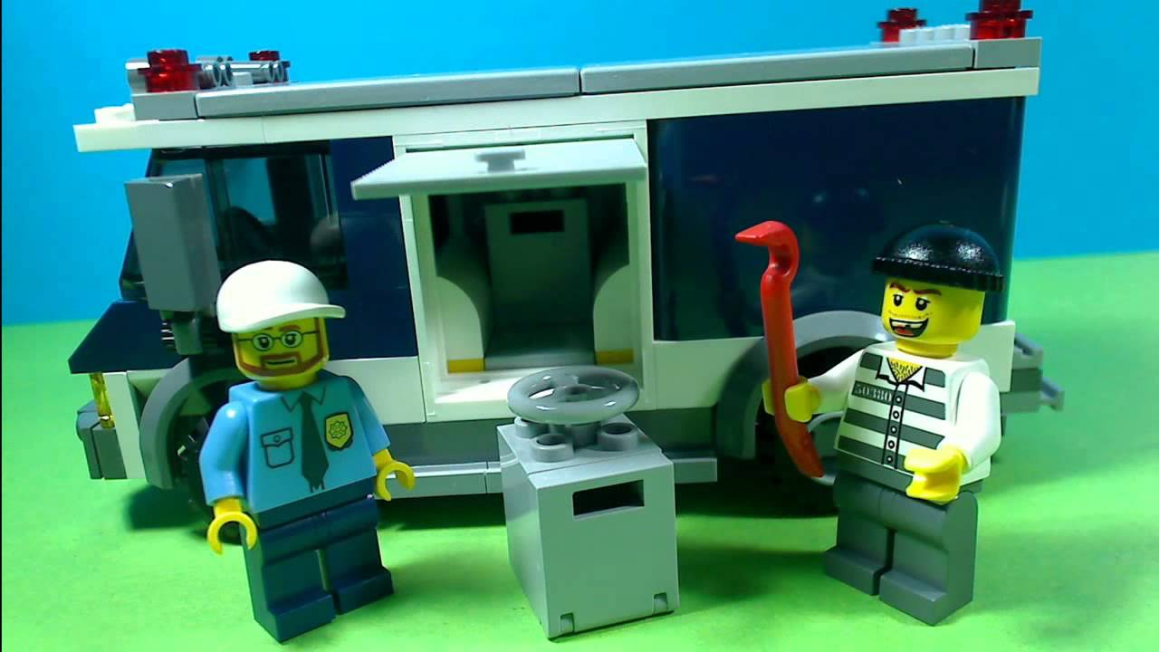 Lego City Bank And Money Transfer 3661 Youtube