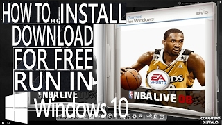 NBA LIVE 08 IN WINDOWS 10  (install & download for free)DIRECT DOWNLOAD