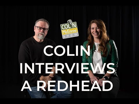 Colin McEnroe Interviews A Redhead (Carolyn Paine)