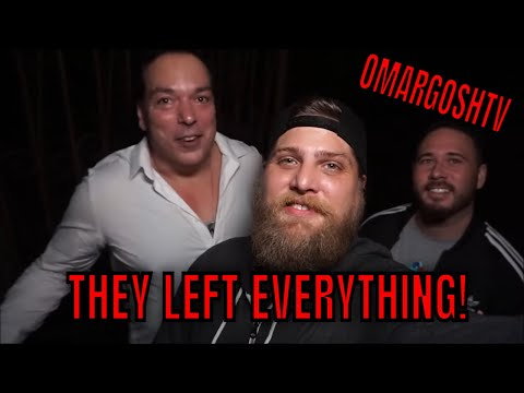 (ABANDONED MANSION OF HORROR) WITH OMARGOSHTV, EVERYTHING LEFT BEHIND,  MOST HAUNTED PLACE WE KNOW