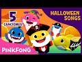 Las Mejores Canciones de Tiburones de Halloween | +Recopilación | Pinkfong Canciones Infantiles