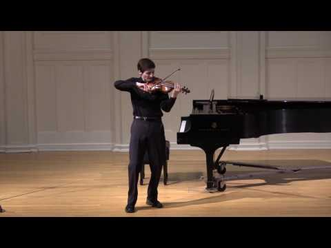 Joshua Brown - Paganini Caprice No. 24