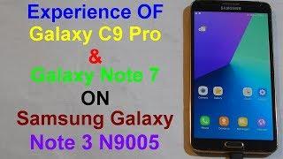 Aspire C9 Pro Rom On Galaxy Note 3
