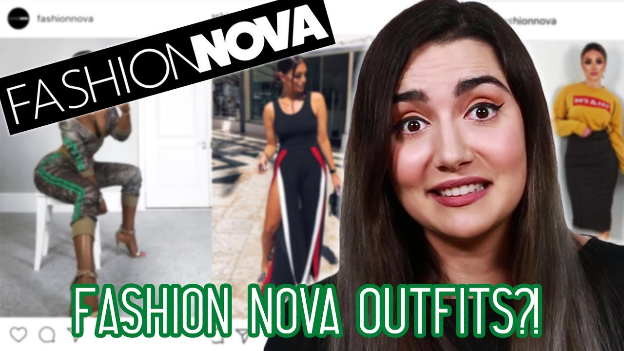 911538938ee Wearing Fashion Nova Outfits For A Week - YouTube