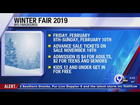 Tom & Becky - Get Ready For A Mini New York State Fair In February!