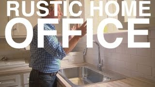 Rustic Home Office | Day 128 | The Garden Home Challenge With P. Allen Smith