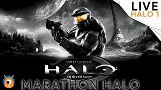 LIVE #HALO : Combat Evolved - Marathon HALO ( Mission 4 - 6 )