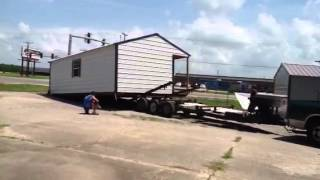 Bart's Portable Building Movers 16x30 Move