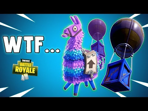 MATERIAL NERF & LLAMA NERF? Wtf.... Fortnite Battle Royale Gameplay